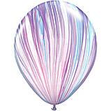 """Латексна кулька агат мода feshion superagate 11"""" Qualatex, фото 2"""