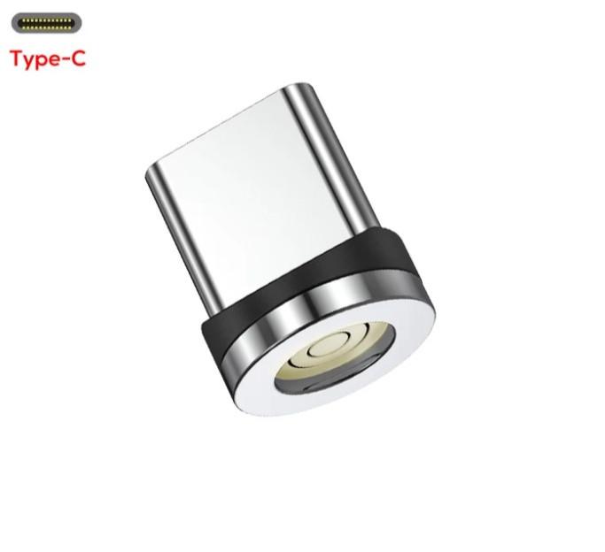 Магнітний круглий конектор Type C USB TOPK для швидкої зарядки