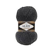Пряжа для вязания ALIZE LANAGOLD,цвет DUE600,51% Акрил, 49% Шерсть