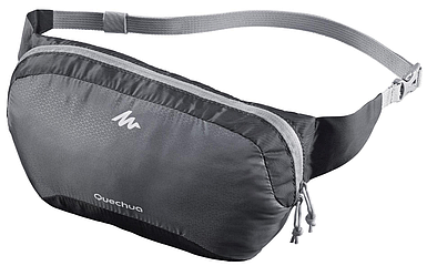 Легкая и компактная поясная сумка (бананка) 2 л TRAVEL QUECHUA (1101302558)