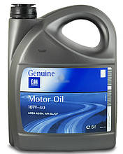 Моторное масло GM Motor Oil Semi Synthetic 10w-40