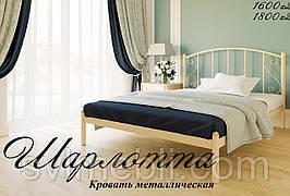 Кровать Шарлотта (бежевая)