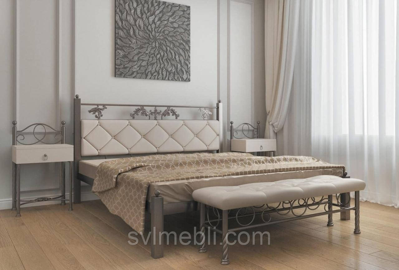 Кровать Стелла (металлик)