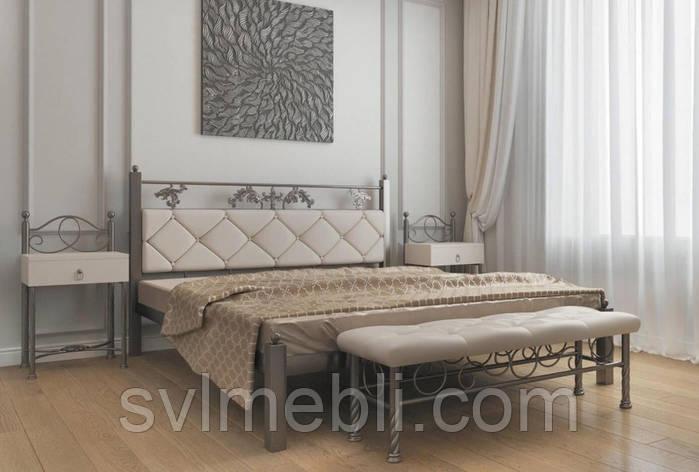 Кровать Стелла (металлик), фото 2