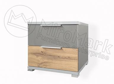 Тумба прикроватная Линц 2 ящика ТМ Миро Марк