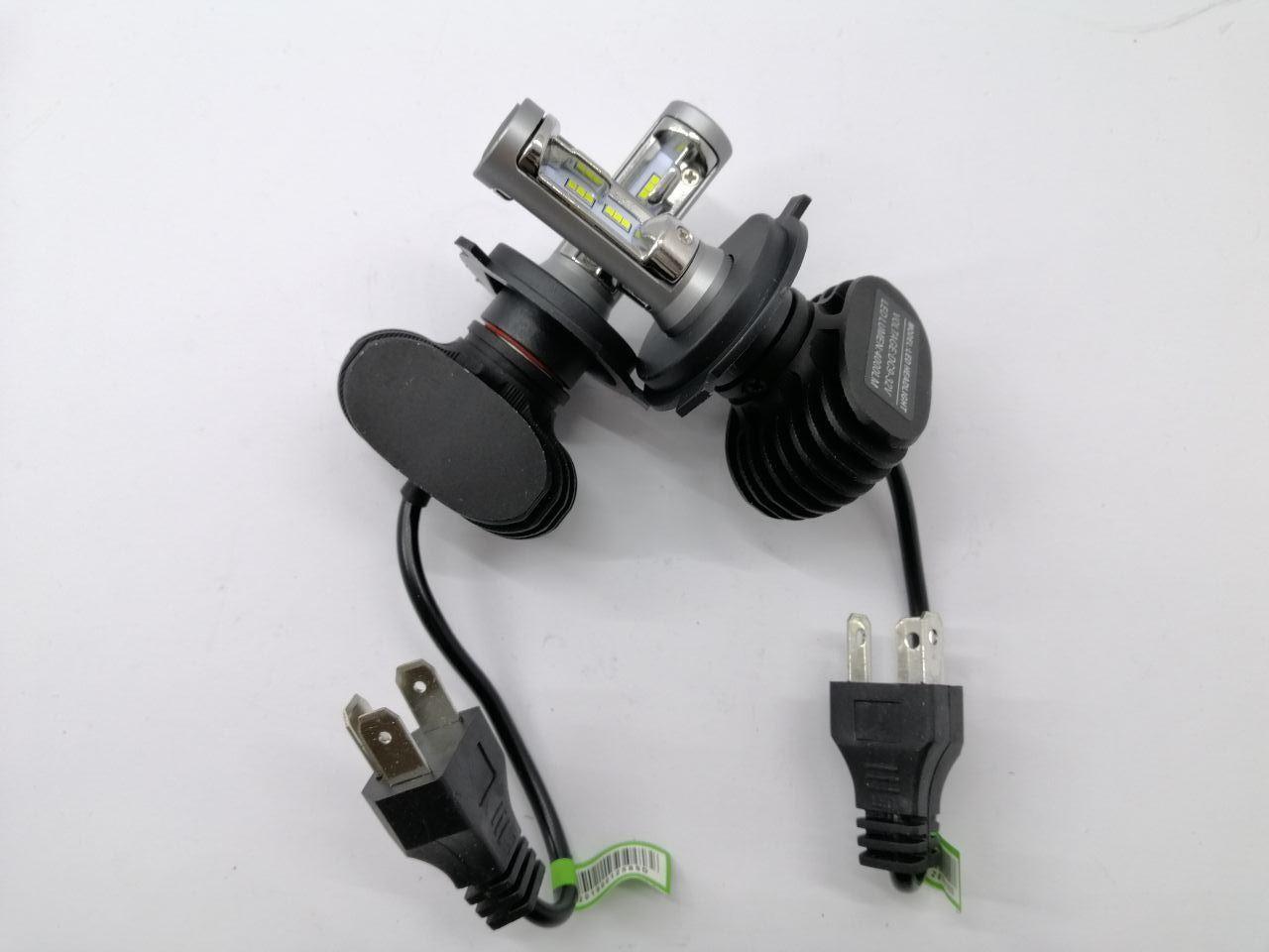 Лампа LED H4 12/24V диод радиатор 6500К, S1 (пр-во Китай)