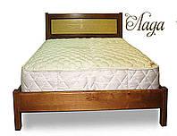 """Кровать в Днепропетровске деревянная односпальная """"Лада"""" kr.ld1.1, фото 1"""