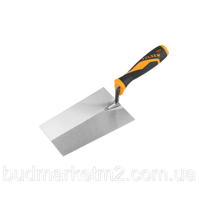 Мастерок Tolsen четырехугольный 160 мм Tolsen