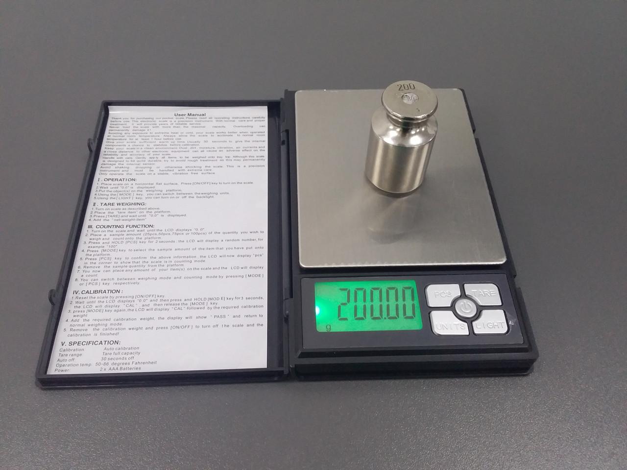 Весы ювелирные 500/0.01g SF 820