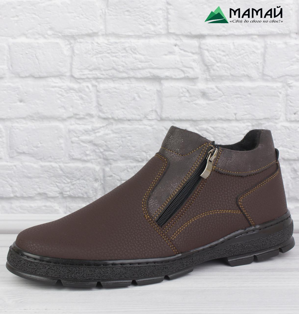 40р Зимові класичні черевики на хутрі -12 °C