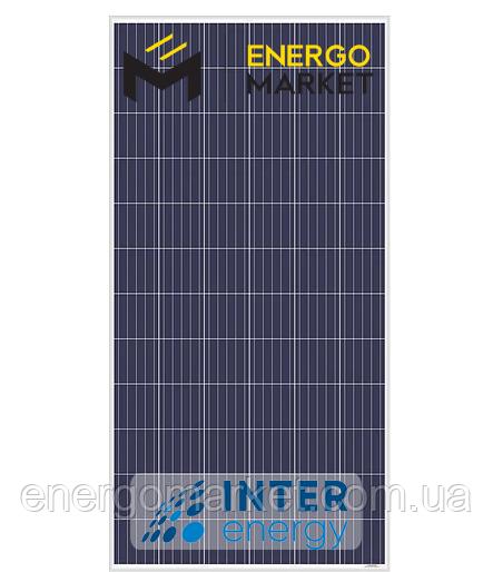 Поликристаллическая солнечная панель InterEnergy IE-P72-335W (335 Вт, 5BB)