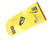 Адаптер Hoco UA10 Micro-USB OTG adapter Silver, фото 2