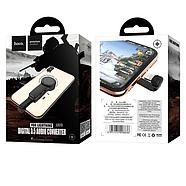 Адаптер Hoco LS23 Le Tour Apple digital 3.5 audio converter Black, фото 2