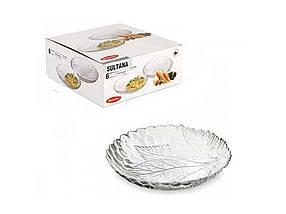 Набір тарілок з бортиком Pasabahce Sultana 210 мм упаковка 6 шт (10285)