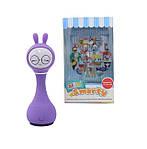 Интерактивная игрушка-плеер Alilo Зайчик Фиолетовый (Alilo SMARTY R1 фиолетовый), фото 4