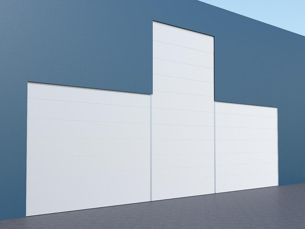 Мультисекционные ангарные ворота DoorHan шторного типа