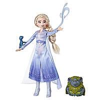 Кукла Эльза тролль и саламандра Холодное сердце 2 Disney Frozen Elsa Pabbie & Salamander Figures