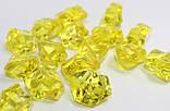 Искусственный лёд желтый. Размер 19-24мм, фото 2