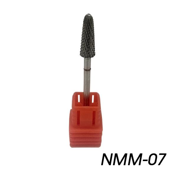 Насадка тверлосплавная для штучних нігтів з червоною надсечкой NMM-07