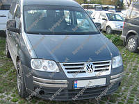 Хром Накладки на передний бампер (нерж.) Volkswagen Caddy (2004 - ...)