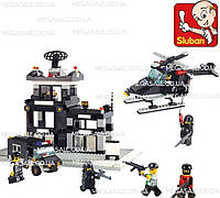 Конструктор Sluban Военная полиция 2200: 389 деталей, 6 фигурок