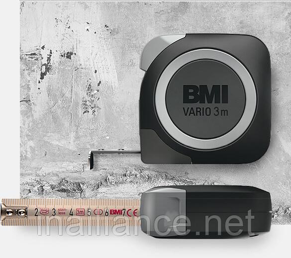 Рулетка измерительная 3 метра из нержавеющей стали Rostfrei Vario BMI 411343120