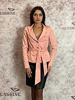 Женский пиджак из костюмной ткани Poliit  6533, фото 1