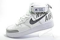 Белые кроссовки унисекс в стиле Nike Air Force 1 High, White