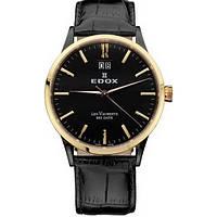 Мужские часы EDOX 63001 357RN NIR Les Vauberts
