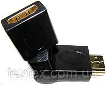 HDMI переходники разных типов HDMI / - miniHDMI(M)-miniHDMI(F)-microHDMI(M)