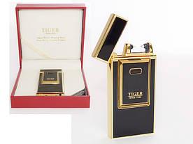 Электроимпульсная USB зажигалка Tiger black