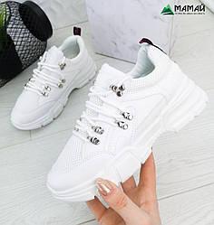 Білі жіночі кросівки