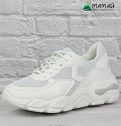 36р Кросівки жіночі білі