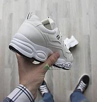 38р Кросівки жіночі білі, фото 3