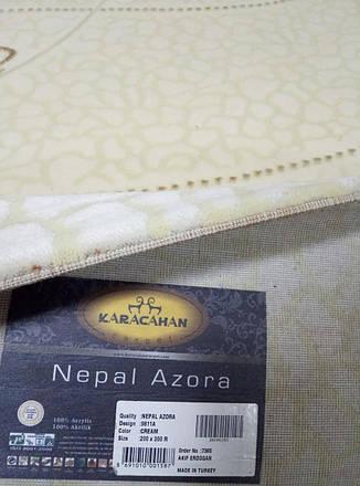Ковер Nepal Azora 9811R  размер 200x300 см  беж, фото 2
