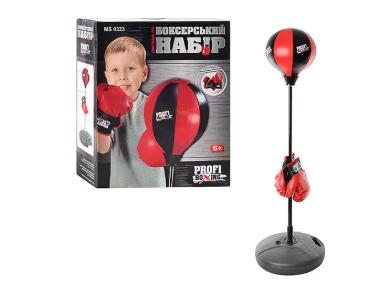 Боксерский набор Profi Boxing MS 0333 ( высота стойки 90-130 см)