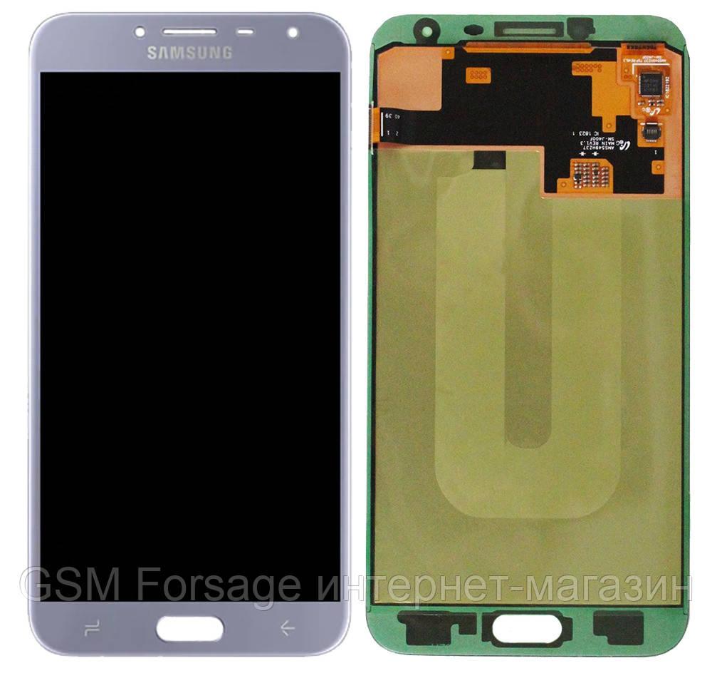 Дисплей Samsung Galaxy J4 2018 SM-J400F Original 100% (Service Pack) Silver