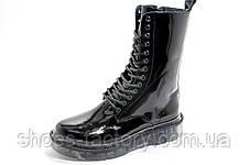 Женские Ботинки в стиле Dr. Martens, Высокие на меху, фото 3
