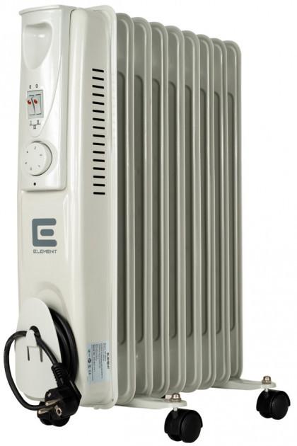 Масляный радиатор Element OR 0920-9 на 9 секций 2000 W