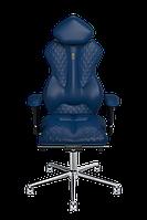 Эргономичное кресло KULIK SYSTEM ROYAL Синее (503)