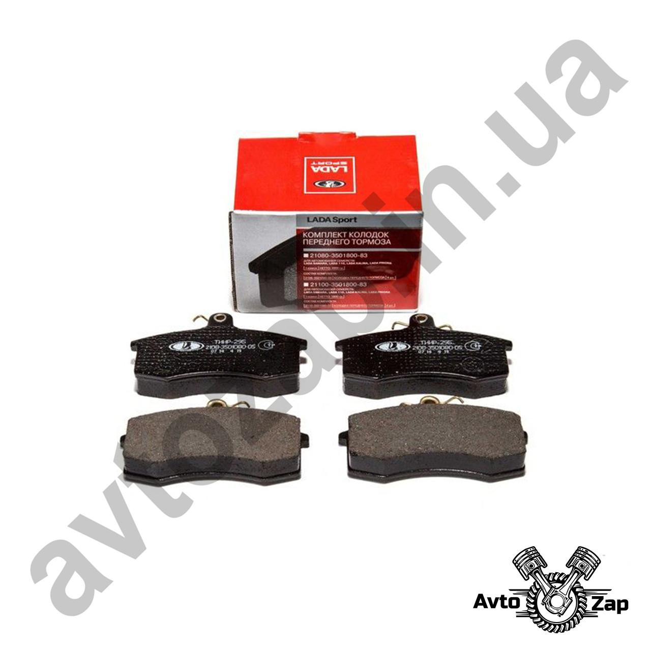 Колодка тормозная передняя ВАЗ 2108-099,2113-15, к-т (LADA SPORT)  90355