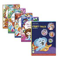 Набор интерактивных книг smart koala sksfts2 Спящая красавица, Белоснежка, Новое платье короля, Принц Лягушка