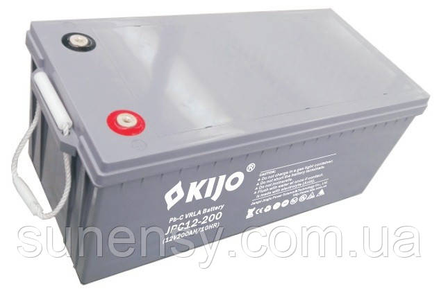 Аккумулятор Kijo JPC 12V 200Ah GEL Lead-carbon