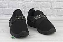 38р Кросівки жіночі в сітку чорні, фото 2