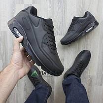 Кросівки чоловічі чорні 46р, фото 2