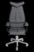 Эргономичное кресло KULIK SYSTEM JET Серебристое (304)