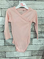 Боди длинный рукав Lupilu 1013 68 розовый