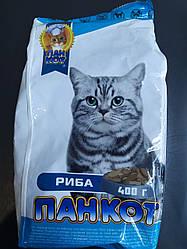 Сухой корм для котов Пан кот Рыба, 400 г