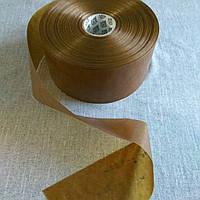 Коллагеновая оболочка Fabios FG D=80 mm для варёных, варено-копченых и копчёных колбас - карамель - 5 м/п