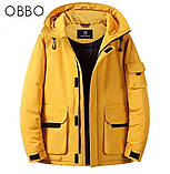 Молодіжна, зима еврозма осінь коротка куртка дута, жовтий, червоний, гірчичний, хакі всі кольори і розміри., фото 3